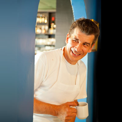 Executive Chef and Owner, Frederic Feufeu